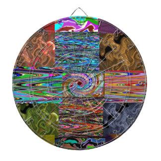 Modelo divino RICO del collage de la onda del bail Tabla Dardos