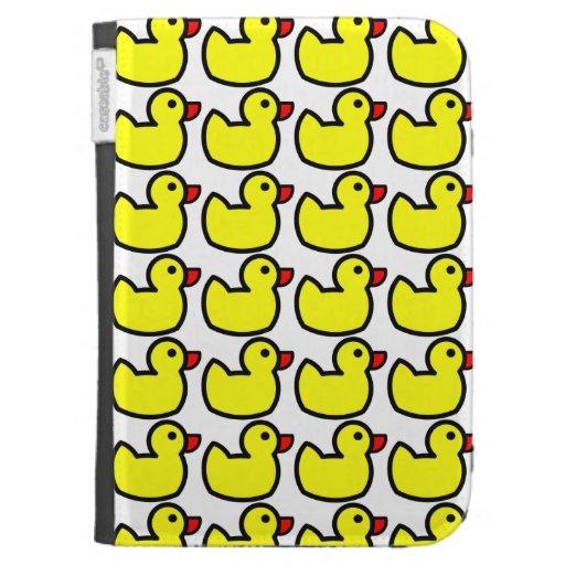 Modelo Ducky de goma amarillo brillante lindo