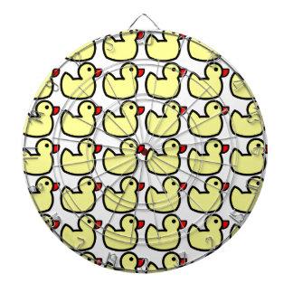 Modelo Ducky de goma amarillo brillante lindo Tabla Dardos
