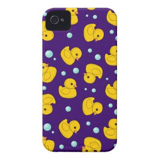 Modelo Ducky de goma Carcasa Para iPhone 4 De Case-Mate