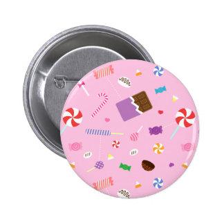 Modelo dulce colorido del caramelo para los chicas pin