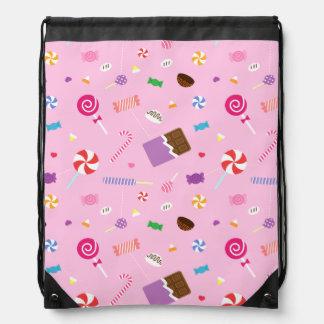 Modelo dulce colorido del caramelo para los chicas mochila