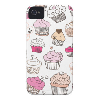 Modelo dulce de la torta del caramelo de la iPhone 4 Case-Mate cobertura