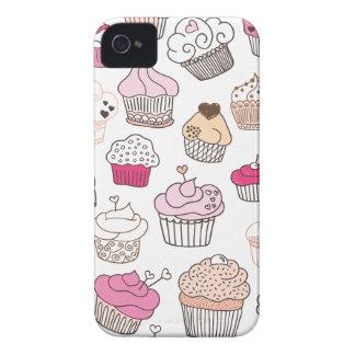 Modelo dulce de la torta del caramelo de la magdal Case-Mate iPhone 4 coberturas
