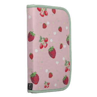 Modelo dulce rosado femenino de la fruta de las fr organizadores