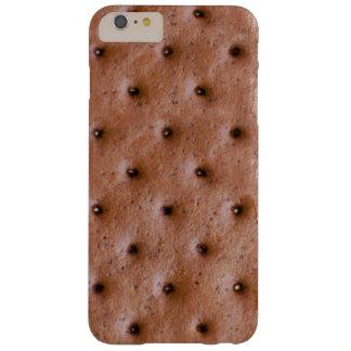 Modelo dulce y divertido del bocadillo del helado funda de iPhone 6 plus barely there