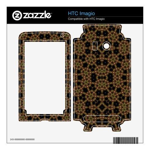 Modelo elegante abstracto skin para el HTC imagio