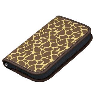 Modelo elegante de la jirafa planificador