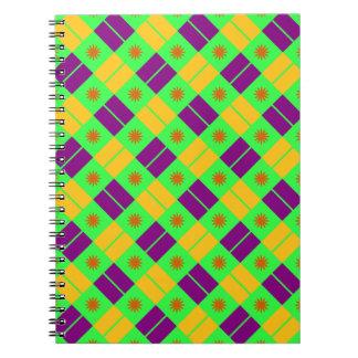 Modelo elegante de la teja cuadernos