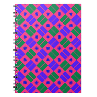 Modelo elegante de la teja spiral notebook
