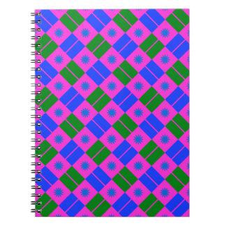 Modelo elegante de la teja spiral notebooks