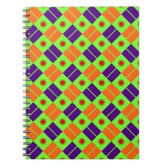 Modelo elegante de la teja cuaderno