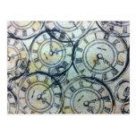 Modelo elegante de los relojes de bolsillo del postal