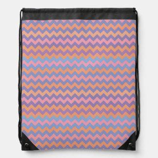 modelo elegante de los tonos rosados de los galone mochilas