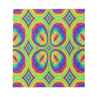 Modelo elegante de repetición colorido bloc