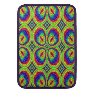 Modelo elegante de repetición colorido funda para macbook air