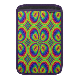 Modelo elegante de repetición colorido funda macbook air