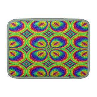 Modelo elegante de repetición colorido fundas MacBook