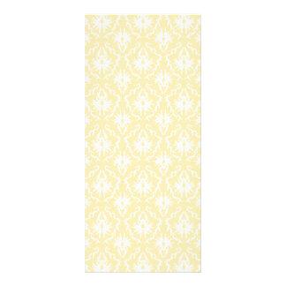 Modelo elegante del damasco. Color ligero del oro Tarjetas Publicitarias A Todo Color