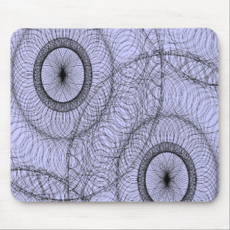 Modelo elegante del Doodle del zen de Swirly del S Tapete De Ratones