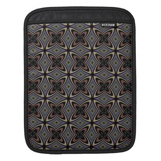 Modelo elegante enrrollado de los diamantes de las mangas de iPad