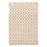 Modelo elegante geométrico de madera tribal modern iPad mini carcasas