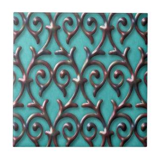 Modelo elegante magnífico azulejo cuadrado pequeño