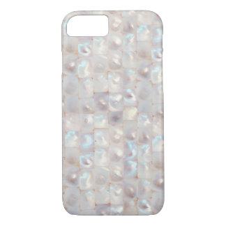 Modelo elegante nacarado hermoso fresco funda iPhone 7