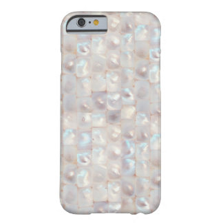 Modelo elegante nacarado hermoso fresco funda para iPhone 6 barely there