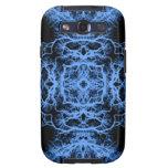 Modelo elegante negro y azul galaxy s3 funda