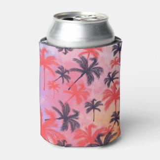 Modelo en colores pastel de la acuarela de la enfriador de latas