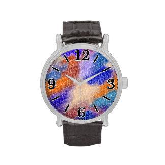 Modelo en colores pastel geométrico moderno de la