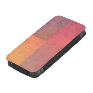 Modelo en colores pastel rosado de la acuarela del bolsillo para móvil