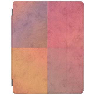 Modelo en colores pastel rosado de la acuarela del cubierta de iPad