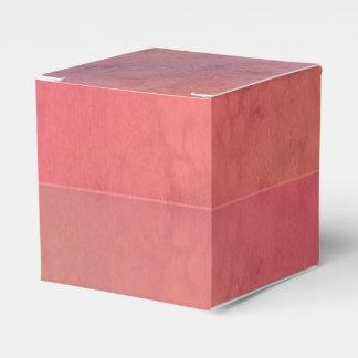 Modelo en colores pastel rosado de la acuarela del paquete de regalo