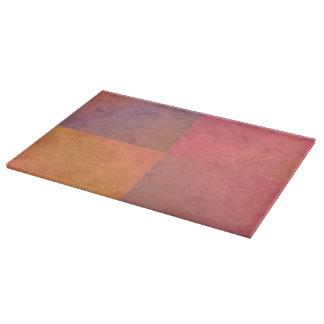 Modelo en colores pastel rosado de la acuarela del tabla para cortar