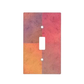 Modelo en colores pastel rosado de la acuarela del tapas para interruptores