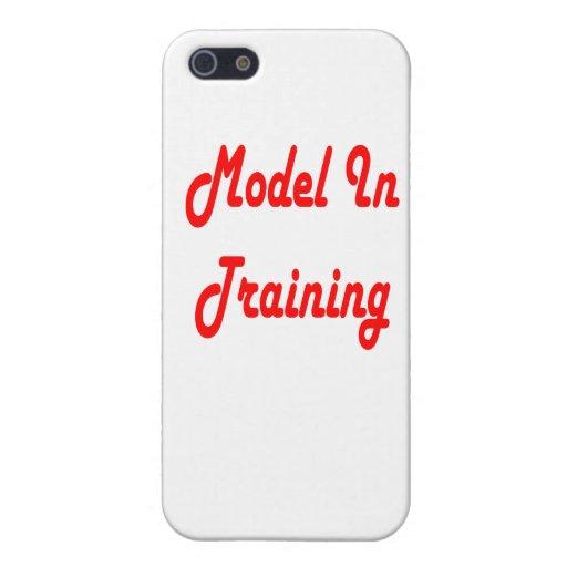 Modelo en el entrenamiento iPhone 5 carcasas