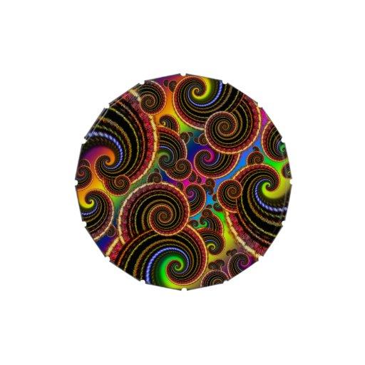 Modelo enrrollado del arte del fractal del remolin