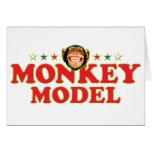 Modelo enrrollado del mono tarjetas