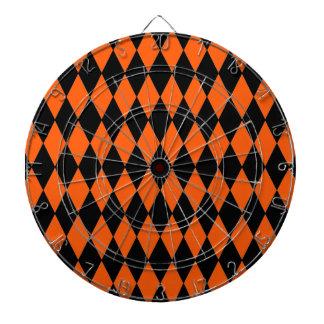 Modelo enrrollado del naranja y del Harlequin del Tabla Dardos