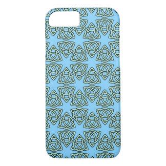 MODELO ENTRELAZADO en ~ azul Funda iPhone 7