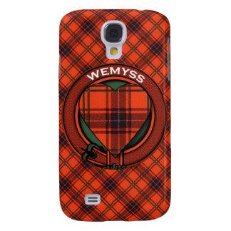 Modelo escocés del tartán de Wemyss