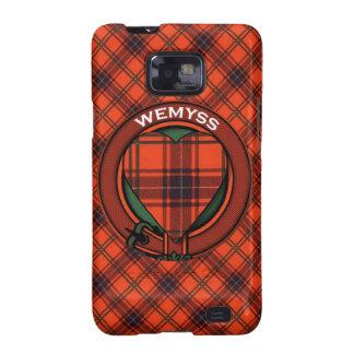 Modelo escocés del tartán de Wemyss Samsung Galaxy S2 Carcasas