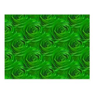 Modelo esmeralda abstracto del papel pintado del r postal