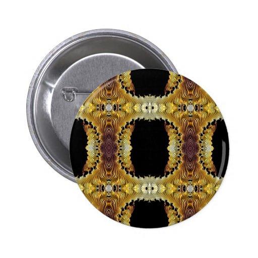 Modelo especial del fractal de oro pins