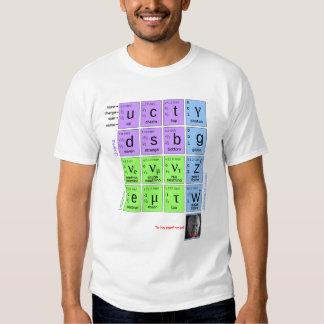¡Modelo estándar de partículas elementales con Poleras