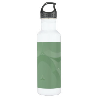 Modelo extraño botella de agua
