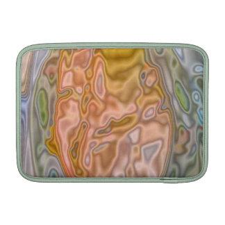 Modelo extraño coloreado extracto funda macbook air