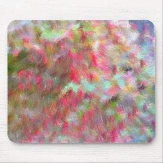 modelo extraño coloreado mouse pad